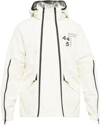 Moncler Tyler Paper-touch Double-zip Jacket - White