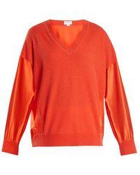 Amanda Wakeley - Vikanda Cashmere And Silk Sweater - Lyst