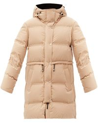Aztech Mountain Galena Hooded Quilted Down Coat - Natural