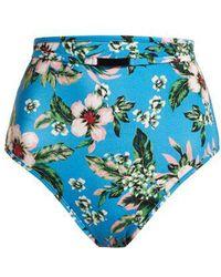 Diane von Furstenberg - Cheeky High-waisted Bikini Briefs - Lyst
