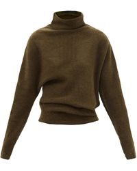 Proenza Schouler オーバーサイズ タートルネックセーター - グリーン