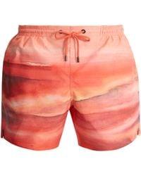 Marané - The Horizon Print Swim Shorts - Lyst