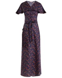 The Vampire's Wife - Charlotte Liberty Floral-print Cotton Dress - Lyst
