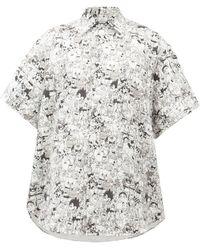 Vetements カートゥーン ブラッシュドコットンシャツ - マルチカラー