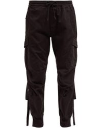 Maharishi - Cargo Cotton Twill Track Pants - Lyst