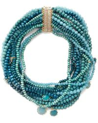 Rosantica By Michela Panero | Inganno Multi-strand Necklace | Lyst
