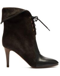 Chloé - Kole Suede Ankle Boots - Lyst