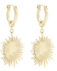 Ellery - Scully Small Sun-drop Earrings - Lyst