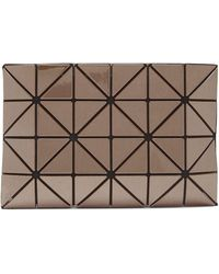 Bao Bao Issey Miyake Lucent Pvc Pouch - Brown