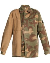 MYAR - 1980s Hungarian Military Camouflage Combat Jacket - Lyst