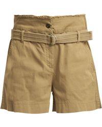 Vanessa Bruno - Belted-waist Shorts - Lyst