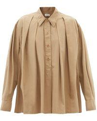 Lemaire ポイントカラー ポプリンシャツ - マルチカラー