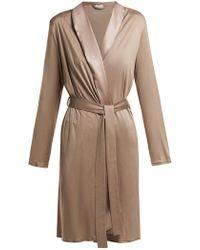 Hanro - Grand Central Jersey Robe - Lyst