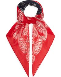 Needles - Two Tone Silk Bandana - Lyst