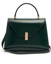 Valextra - Iside Medium Leather Bag - Lyst