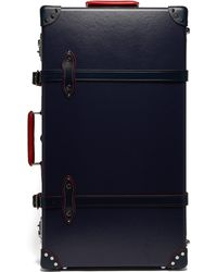 "Globe-Trotter St. Moritz 30"" Check-in Suitcase - Blue"