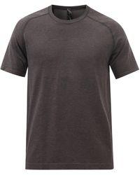lululemon athletica Metal Vent Tech 2.0 Jersey T-shirt - Gray