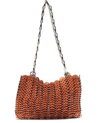 Paco Rabanne 1969 Chainmail Wooden Shoulder Bag - Multicolour