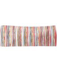 Missoni Bandeau en maille rayée - Multicolore
