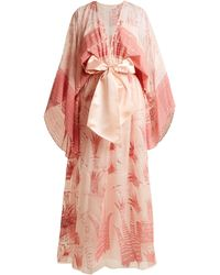 Zandra Rhodes Summer Collection The 1973 Field Of Lilies Gown - Pink