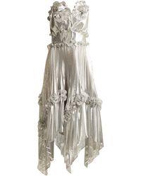 Zandra Rhodes Archive Ii The 1977 Sunray Gown - Metallic