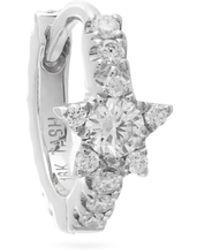 Maria Tash - Eternity Diamond & 18kt Gold Single Earring - Lyst