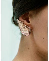 Fernando Jorge Boucles d'oreilles clippées en or rose et morganite Gleam - Multicolore
