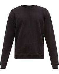 John Elliott オーバーサイズ コットン スウェットシャツ - ブラック