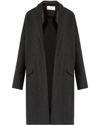 Raey - Double-faced Wool And Cashmere-blend Blanket Coat - Lyst