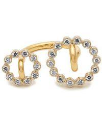 Charlotte Chesnais - - System Diamond & Yellow Gold Ring - Womens - Gold - Lyst