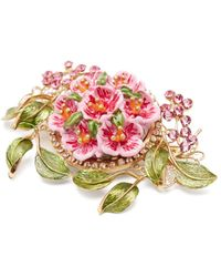 Anissa Kermiche Anahata Diamond, Sapphire, Opal & 18kt Gold Ring - Pink