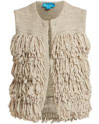 M.i.h Jeans - Woodstock Loop-stitch Knit Gilet - Lyst
