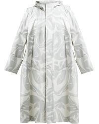 Colville - Parka oversize en coton à imprimé camouflage - Lyst