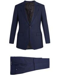 Kilgour - Single-breasted Wool-crepe Suit - Lyst