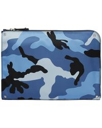 Valentino - Camouflage Print Pouch - Lyst