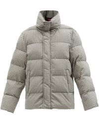 STAUD Ace Checked Padded Jacket - Multicolour