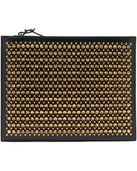 Christian Louboutin Pifpouch Studded Leather Clutch - Multicolor