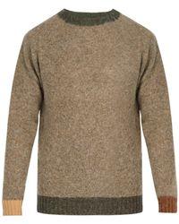 Howlin' By Morrison - Contrast-trim Wool Sweater - Lyst