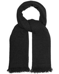 Begg & Co Kishorn Cashmere Scarf - Gray
