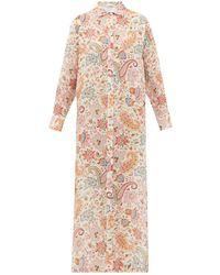 Etro - ペイズリー ラミーシャツドレス - Lyst