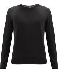 FALKE メリノウールセーター - ブラック