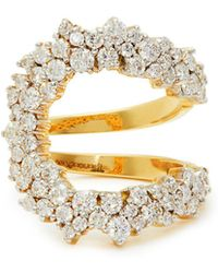 Ana Khouri - Mirian 18kt Gold & Diamond Ring - Lyst