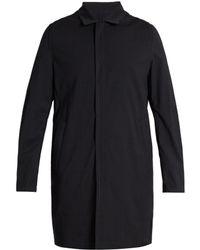 Wooyoungmi - Point-collar Wool-blend Seersucker Coat - Lyst