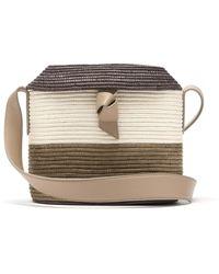 Cesta Collective Lady Bag 3 Woven Sisal Basket Bag - Natural