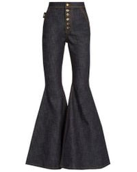 Ellery - Ophelia High-rise Flared Jeans - Lyst