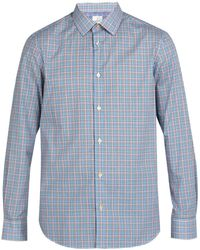 Paul Smith - Checked Cotton Shirt - Lyst