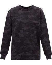 lululemon athletica Perfectly Oversized Camo-print Cotton Sweatshirt - Black