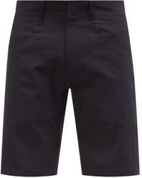 Veilance Voronoi Lt Nylon-blend Shorts - Black