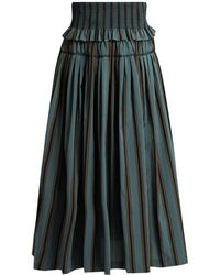 Brock Collection | Sibylle Striped Skirt | Lyst