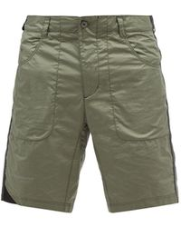 Klättermusen Ansur Cotton-ripstop Shorts - Green